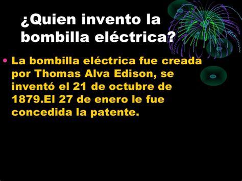 Bombilla electrica