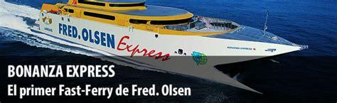 Bonanza Express Ferry Canarias   Flota barcos Fred Olsen ...