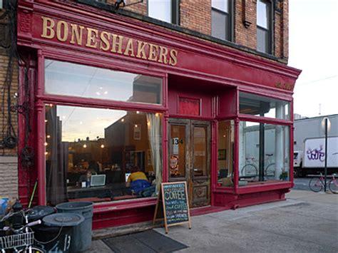 Boneshakers cafe, bikes, food and coffee, 134 Kingsland ...