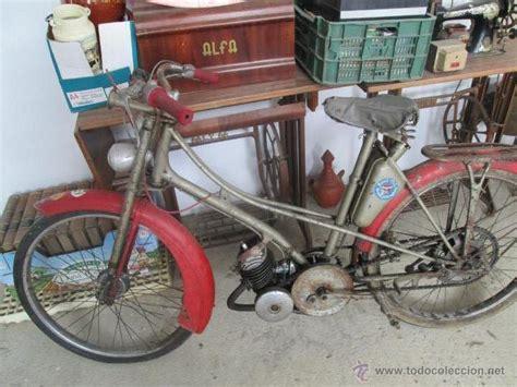 bonita moto antigua marca motobecane des pue mo   Comprar ...