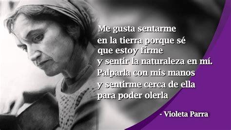 Bonita Televisión   Palabras que inspiran  Violeta Parra ...