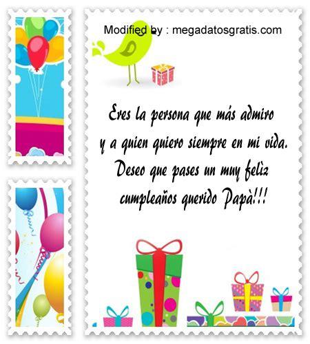 Bonitas cartas de cumpleaños para mi Papá | Saludos de ...