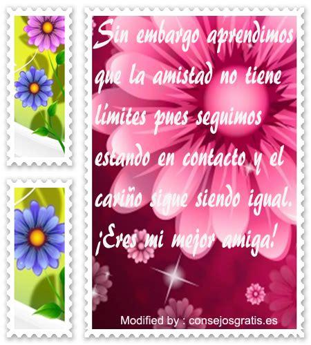 Bonitas Frases Para Amigos A La Distancia | Mensajes de ...
