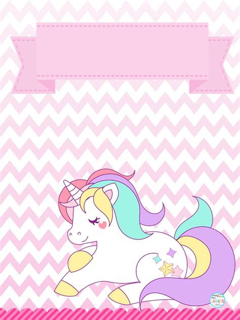 Bonitas portadas de unicornios | Material Educativo