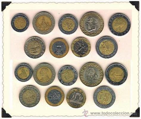 bonito lote de 9 monedas bimetalicas diferentes - Comprar ...