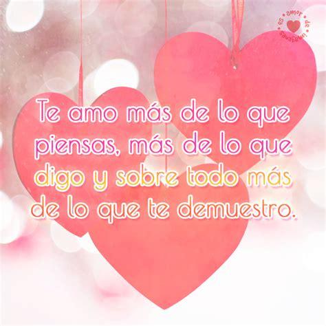 bonitos corazones enamorados con lindo mensaje de amor ...