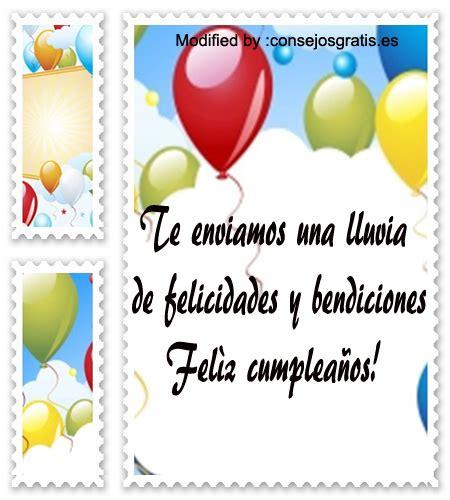 Bonitos Mensajes De Cumpleaños | Tarjetas De Cumpleaños ...