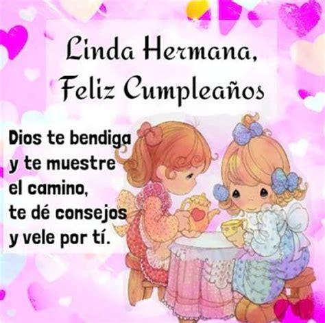 Bonitos Mensajes De Feliz Cumpleaños Para Una Hermana ...