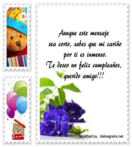 Bonitos Sms de feliz cumpleaños para enviar | Textos de ...
