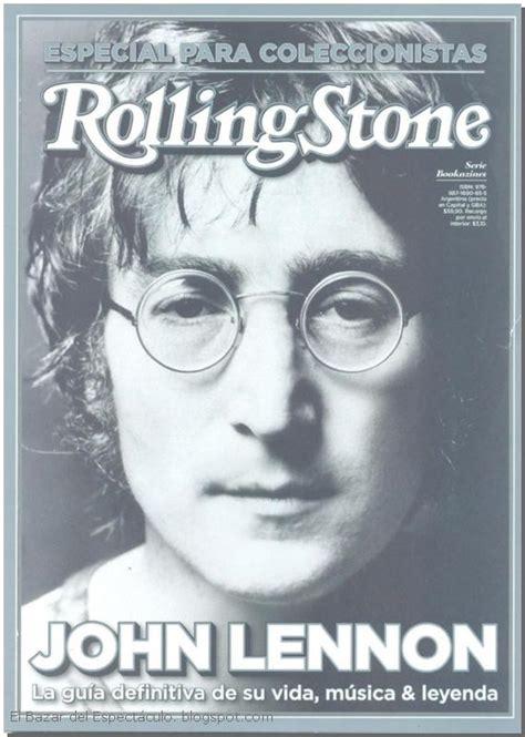 * Bookazine John Lennon Revista Rolling Stone: Lanzamiento ...