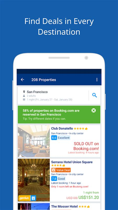 Booking.com Travel Deals - Android Apps on Google Play