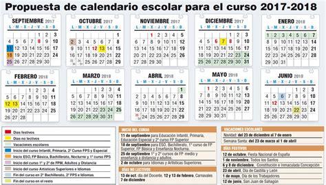 Borrador Calendario Escolar 2017-2018 - Stecyl-i
