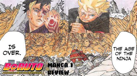 Boruto Manga 1   Uzumaki Boruto Review   & Live Reaction ...