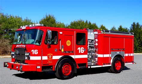 Boston's Newest Engines - Apparatus - EMTBravo.com