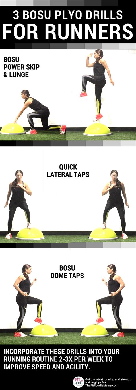 BOSU Plyo Drills to Improve Running Speed & Form - The Fit ...