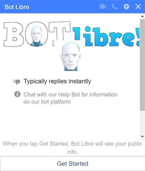 Bot Libre   Free chat bot hosting  virtual agents, Twitter ...