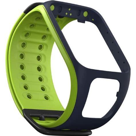 Bracelet Montre TOMTOM Runner 2 Vert-bleu marine Large ...
