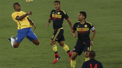 Brasil 1 - 0 Colombia: Resumen y resultado - Partido de La ...