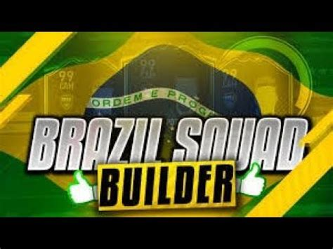 Brasil/Brazil Squad Builder in Dream League Soccer 16 ...
