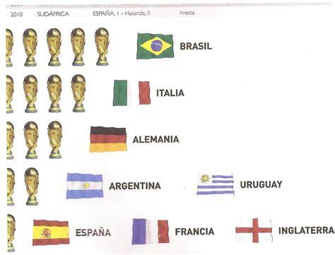 Brasil la seleccion con mas Copas del Mundo - Deportes ...