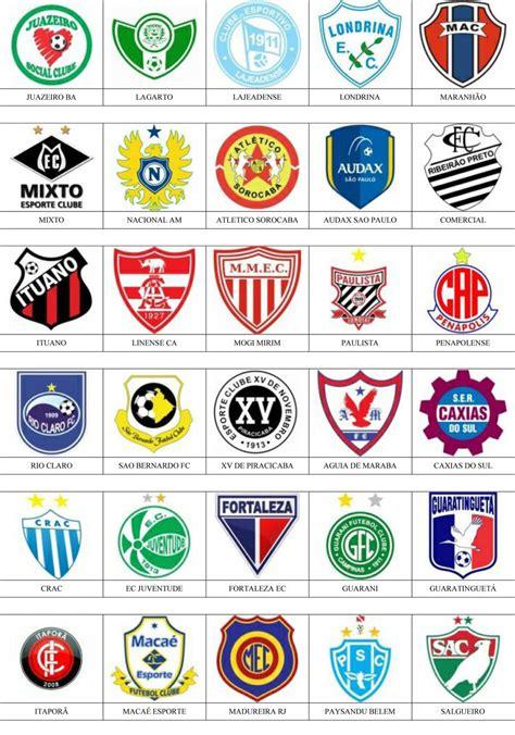 Brasil   Pins de escudos/insiginas de equipos de fútbol.