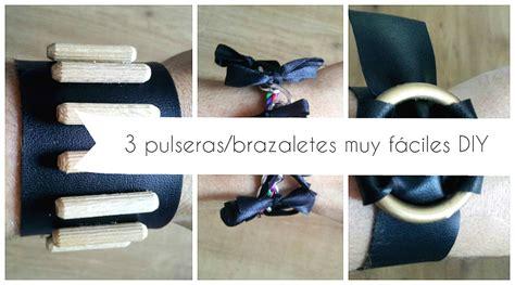 brazaletes de cola de raton   Manualidades