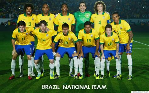 Brazil Football Team Wallpapers HD Download