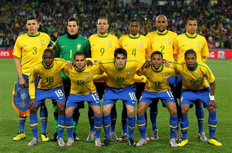 Brazil Soccer Teams Players Brazil National Football Team ...