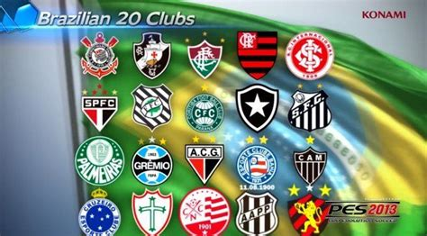 Brazilian soccer league added to PES 2013 roster | GameWatcher