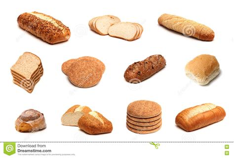 Bread Collage stock photo. Image of white, thin, wheat ...