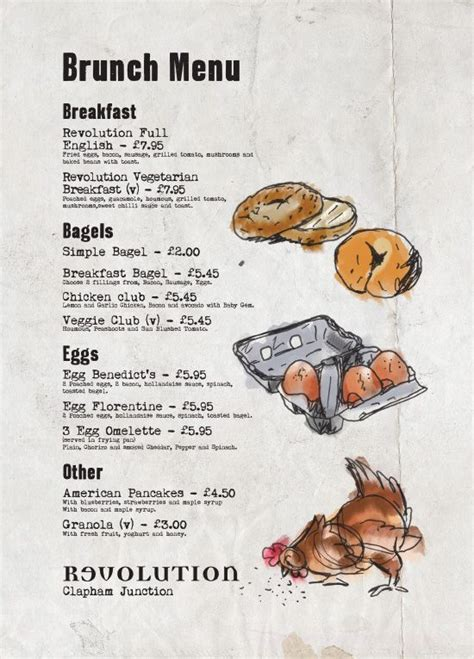 Breakfast Menu Graphic Design, Cool Illustration, Bar Menu ...
