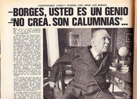 Breve biografía de Jorge Luis Borges