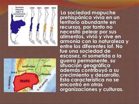 Breve historia del pueblo mapuche