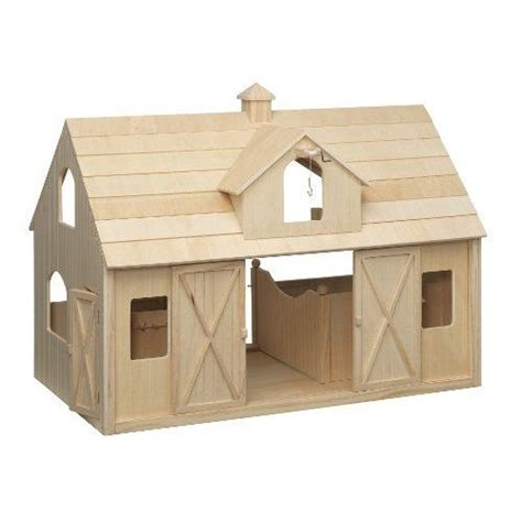 Breyer Wood Horse Barn Large Traditional Toys | HORSES ...