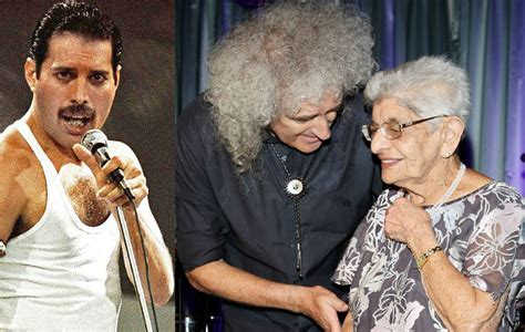 Brian May pays tribute after Freddie Mercury s mother Jer ...