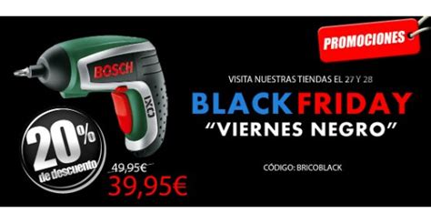 BricoFermín también se apunta al Black Friday - Ferretería ...