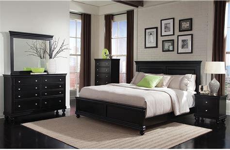 Bridgeport 5 Piece Queen Bedroom Set – Black | The Brick