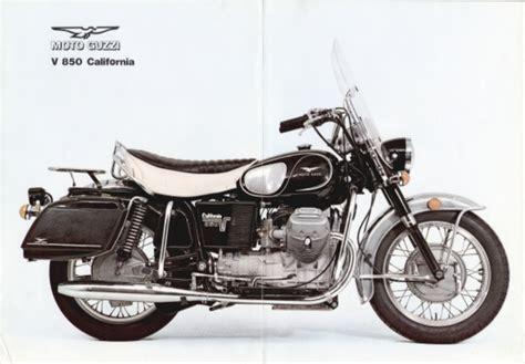Brochure - Moto Guzzi 850 California Police - More Moto ...