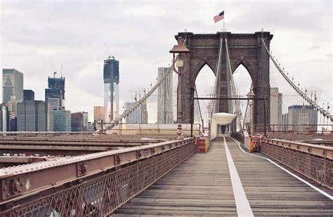 Brooklyn Bridge Wall Mural | New York Wallpapers ...