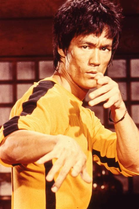 Bruce Lee in  Game of Death . Inspiration for film and ...