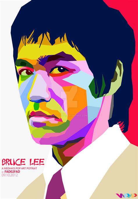 Bruce Lee_WPAP by Fad02fad on DeviantArt