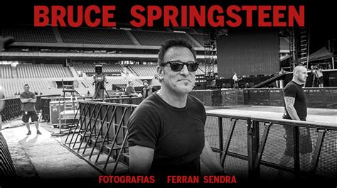 Bruce Springsteen en Barcelona en el 2016