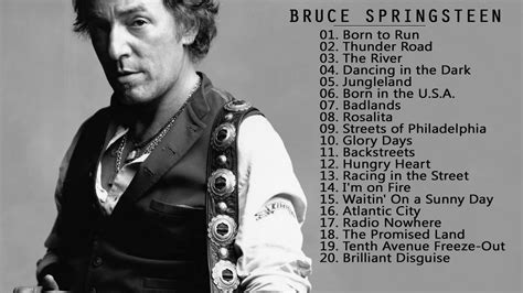 Bruce Springsteen Greatest Hits Full Album Collection ...