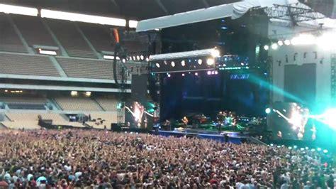 Bruce Springsteen Sevilla 2012, comienzo concierto. - YouTube