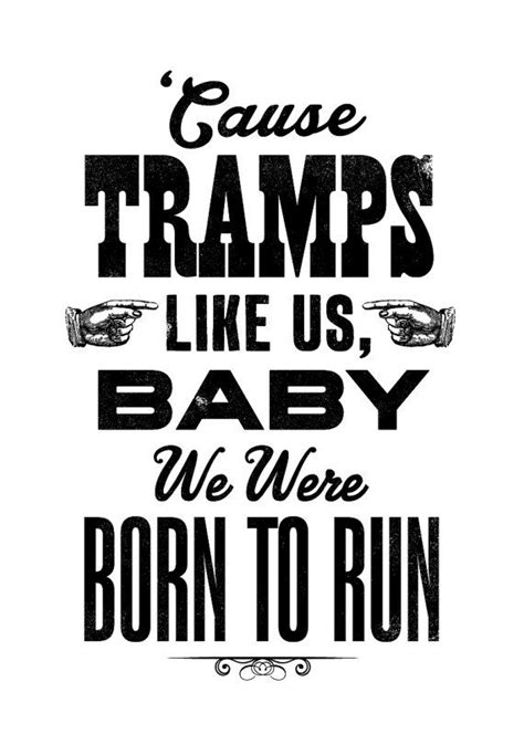 Bruce Springsteen song lyric art, Bruce Springsteen art ...