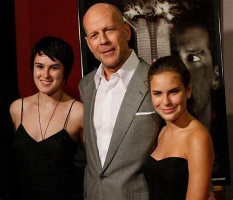 Bruce Willis nos presenta a su hija Mabel Ray