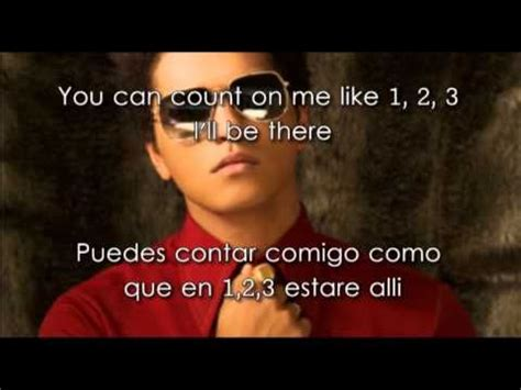 Bruno Mars - Count on me - subtitulos en español e ingles ...