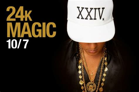 "Bruno Mars' New Single ""24K Magic"" Is Out This Friday ..."