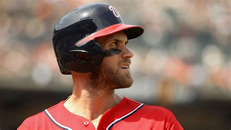 Bryce Harper leaves game after collision at second base ...