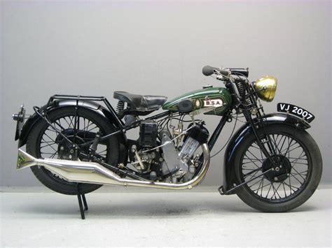 BSA 1929 S29 500 cc 1 cyl sv - Yesterdays